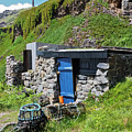 Fisherman's Hut Priest's Cove Cape Cornwall by Terri Waters