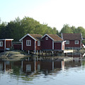 Fisherman's Huts by Dan Andersson