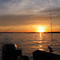 Fishermans Sunset by Jack G  Brauer