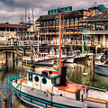Fisherman's Wharf by Lee Santa