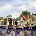 Fisherman's Wharf by Marsha Elliott