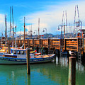 Fishermans Wharf by Tina M Wenger