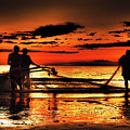 Fishermen by Cesar Caina