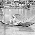Fishermen Of Old by Tina Ernspiker