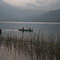 Fishermen On Lake Atitlan by Douglas Barnett