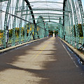 Fisheye South Washington St. Bridge by Christina Rollo