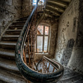 Fisheye Stairs by Nathan Wright