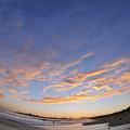 Fisheye Sunset by John Finch