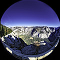 Fisheye View Of Yosemite by Chris Cousins
