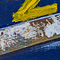 Fishing Boat Abstract by Lindley Johnson