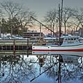 Fishing Boat At Newburyport by Wayne Marshall Chase
