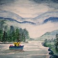 Fishing Boat by B Kathleen Fannin