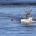 Fishing Boat Return by John Greim