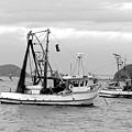 Fishing Boats At Pearl Beach 1.2 by Giro  Tavitian