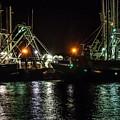 Fishing Boats At Rest by Louis Dallara