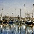 Fishing Boats by Dawn Gari
