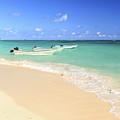 Fishing Boats In Caribbean Sea by Elena Elisseeva