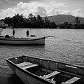 Fishing Boats In Mahebourg  by Clic- Cat