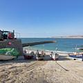 Fishing Boats In Sennen Cove by Terri Waters