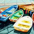 Fishing Boats by Karen Fleschler