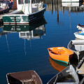 Fishing Boats, Rockport, Ma by Nicole Freedman