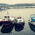 Fishing Boats by Rodrigo Carbajal