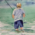 Fishing by Diane Wallace