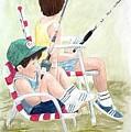 Fishing by Diane Ziemski