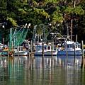 Fishing Fleet by Michael Thomas