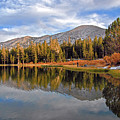 Fishing For Reflections In The High Sierra by Lynn Bauer