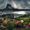Fishing Gear At Lindisfarne. by Brian Tarr