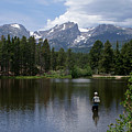 Fishing In Colorado by Heather Coen