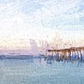 Fishing In Venice, Florida II by Jon Glaser