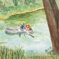Fishing Lake Tanko by Vicki  Housel