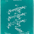 Fishing Lure Patent 1904 Green by Bill Cannon