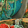 Fishing Net Portrait by Adam Jewell