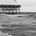 Fishing Off The Pier At Myrtle Beach by Chris Flees