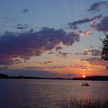 Fishing On The St.lawrence River. by Jerrold Carton