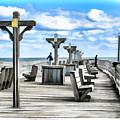 Fishing Pier 13 by Jeelan Clark