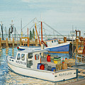 Fishing Pier by Carolynn Fischel