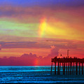 Fishing Pier by Debbie Nobile