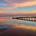 Fishing Pier Duck Obx by Jeff Breiman
