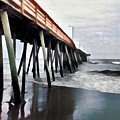 Fishing Pier by Ed Spangenberg