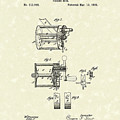 Fishing Reel 1885 Patent Art by Prior Art Design