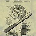 Fishing Reel Patent 1906 Vintage by Bill Cannon