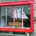 Fishing Shack Window 5998 by Jack Schultz
