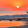 Fishing The Golden Dawn by Michael Hodgkins
