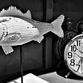Fishing Time B W by Rob Hans