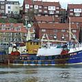 Fishing Trawler - Whitby by Rod Johnson