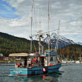 Fishing Vessel Chinak by Cathy Mahnke